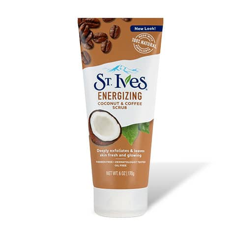 Energizing Coconut & Coffee Face Scrub