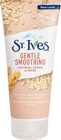 Gentle Smoothing Oatmeal Scrub & Mask