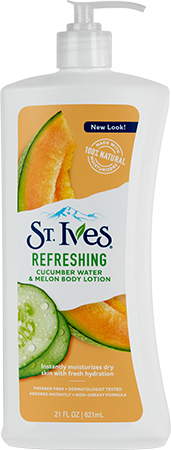 Refreshing Cucumber & Melon Body Lotion
